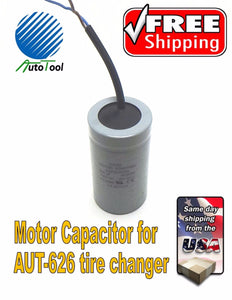 Autotool Tire Changer Motor Starting Capacitor for Autotool 626 or 503
