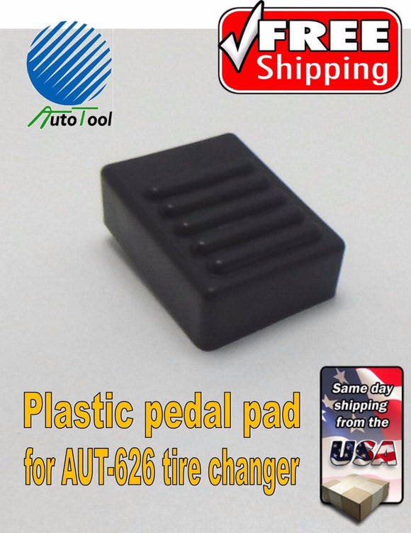 Autotool Tire Changer Small plastic pedal pad for valve operation 626 or 503