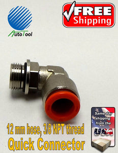 TUBING 12MM L for Corghi/Ranger/Atlas/Aut QUICK CONNECTOR Tire Changer 12mm hose