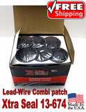 Xtra Seal Lead-Wire Large Combination Tire Plug Patch Repair 31 inc 13-674