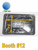 "Dual Cure Square Booth Radial Tire Repair Patch 3"" x 5"" Box of 10 TAITEC TNRA-12"