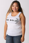 Hensa BE BOLD statement tank top.