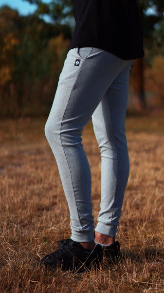 KB Devon Pants in Heather Grey