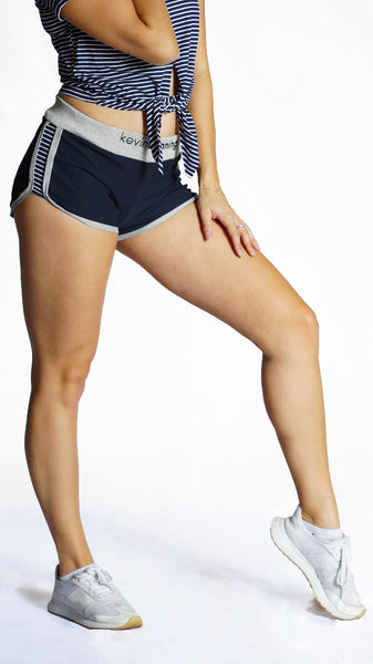 KB Girls Fearless Shorts in Navy-Grey