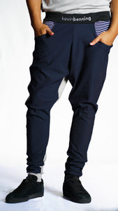 KB Fearless Pants in Navy-Grey