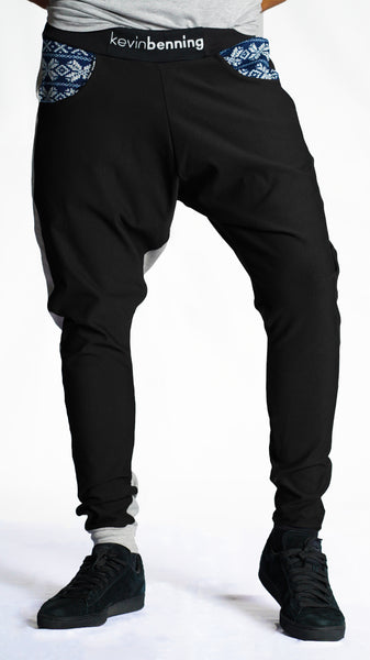 KB Koselig Pants in Black-Grey