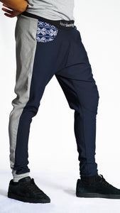 KB Koselig Pants in Navy-Grey