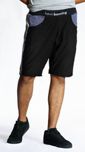 Load image into Gallery viewer, KB Fearless Shorts in Black-Grey
