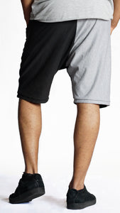 KB Fearless Shorts in Black-Grey