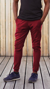KB Devon Pants in Bordeaux