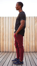 Load image into Gallery viewer, KB Devon Pants in Bordeaux