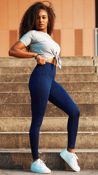 KB Strong Leggings in Navy