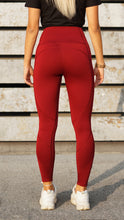Load image into Gallery viewer, KB Strong Leggings in Bordeaux