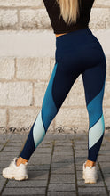 Load image into Gallery viewer, KB Strong Leggings in Shades of Blue