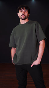 KB Polaris Oversized Tee in Olive