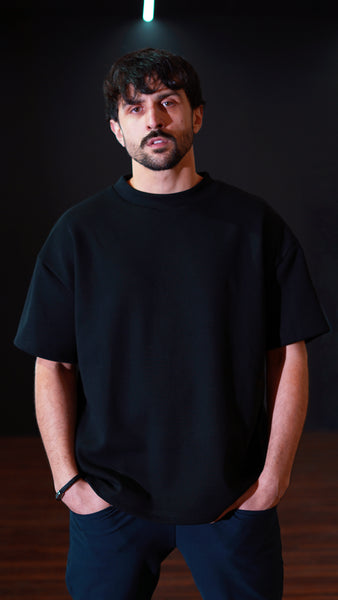 KB Polaris Oversized Tee in Black