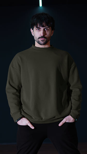 KB Polaris Pullover in Olive