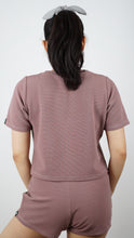 Load image into Gallery viewer, KB Dreamer Cropped Tee in Mauve