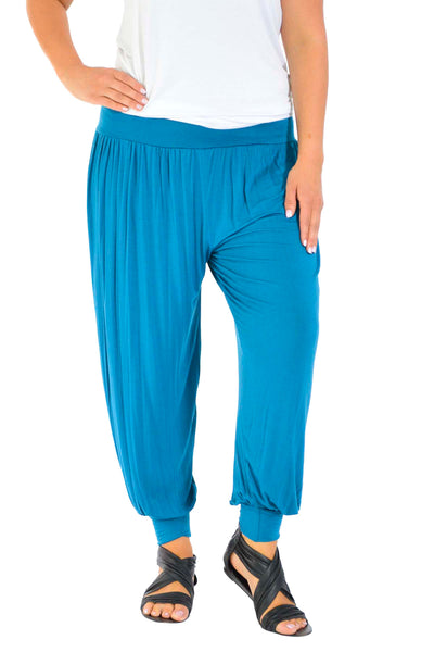 7004 Plain Full Length Harem Trouser
