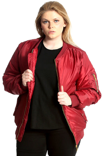 3205 Padded Bomber Jacket