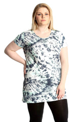 1603 Abstract Print Top