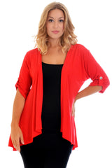 3058 Open Waterfall Cardigan