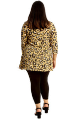 Leopard Print Swing Top