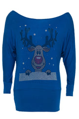Rudolph Batwing Top