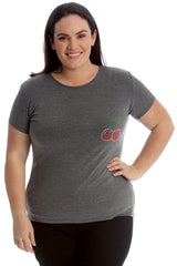 1762 Cherry Pocket Stud T-Shirt