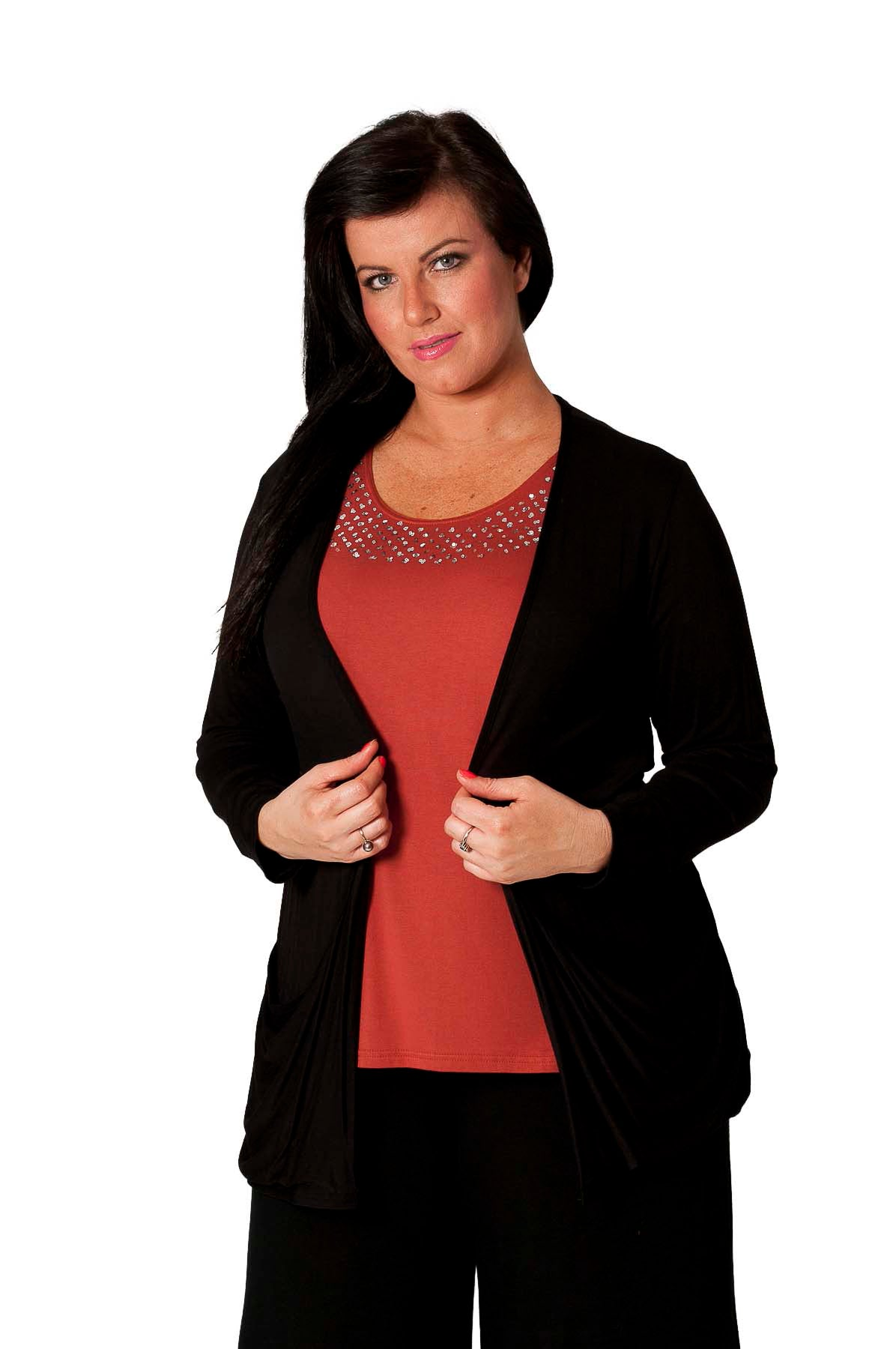 3001 Drop Pocket Cardigan