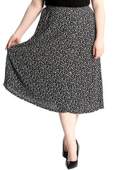 5019 Small Floral Print Skirt