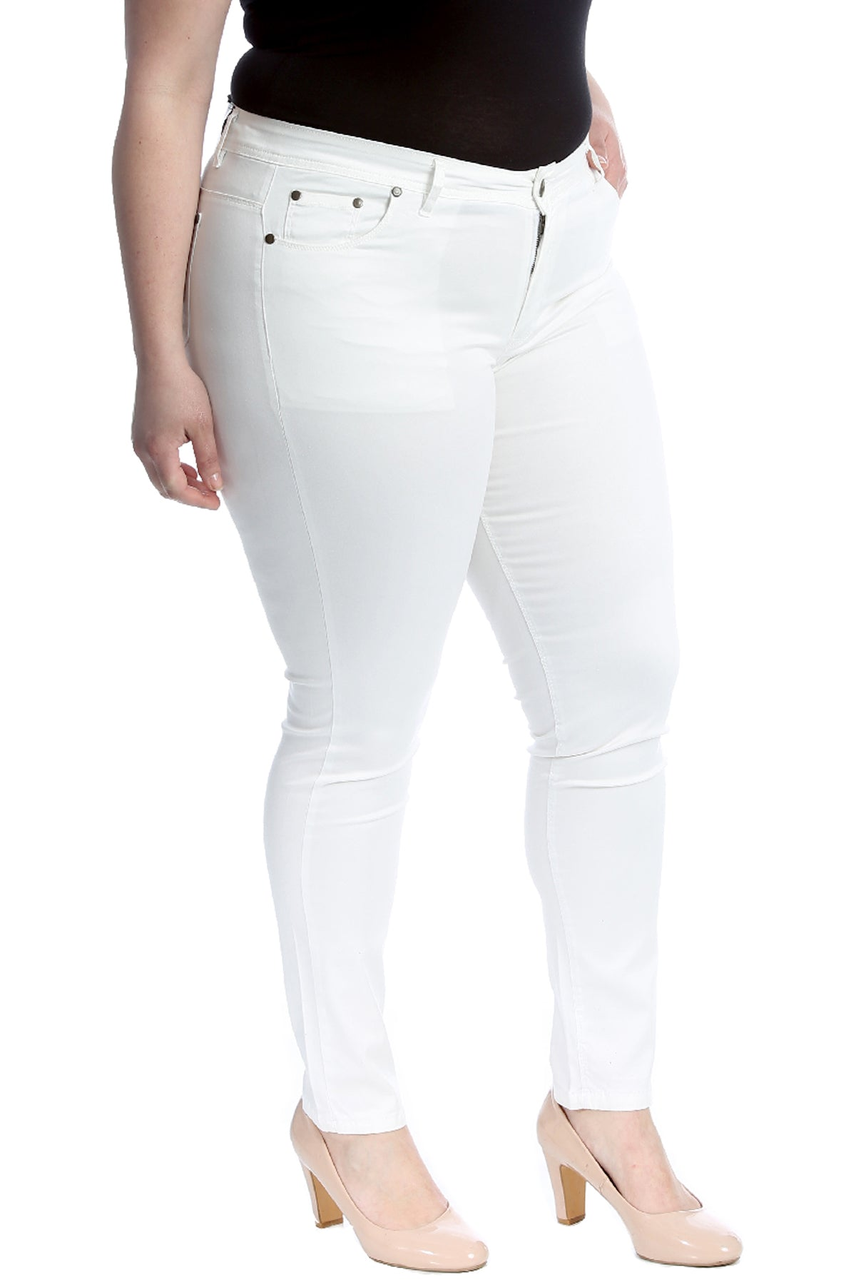 6101 Plain Full Length Pant