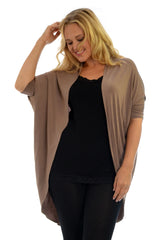 1261 Open Front Batwing Cardigan