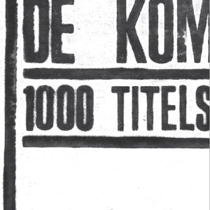 De Kommeniste - 1000 Titels LP + CD