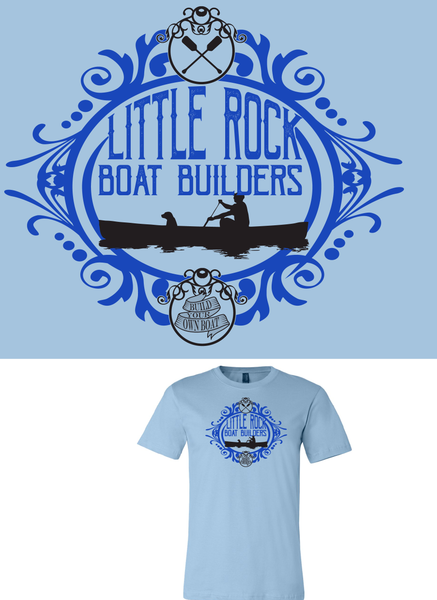Little Rock Boat Builders Short Sleave Shirt