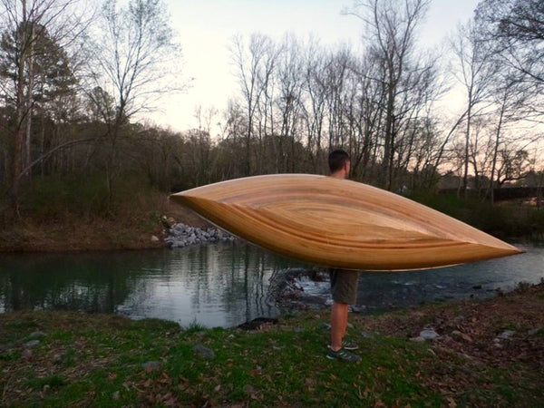 """Wee Willy B"" 10' and 12'  Strip Bulid Canoe"