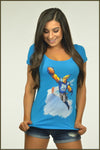 3530 Ladies Scoop Tee #85