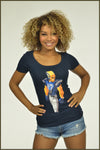 3530 Ladies Scoop Tee #17