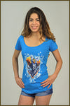 3530 Ladies Scoop Tee #55
