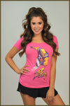 3530 Ladies Scoop Tee #21