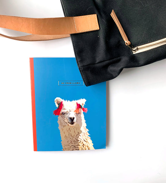 Llama yearly planner at the Notebooks & Honey Curated Collection site