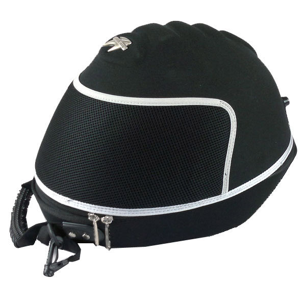 ... Motorcycle Bike Helmet Bags Storage Carry Case Cover Black ...