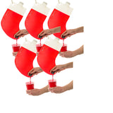 Christmas Santa's Stocking Flask 2.25L with hanging clip