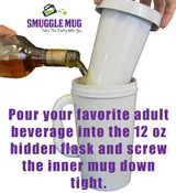 Smuggle Mug Hidden Flask - The Original