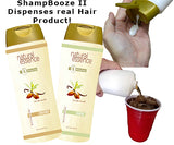 ShampBooze II Shampoo Dispensing Cruise Flask