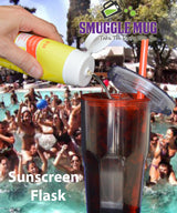 Sunscreen Flask 12.8 oz