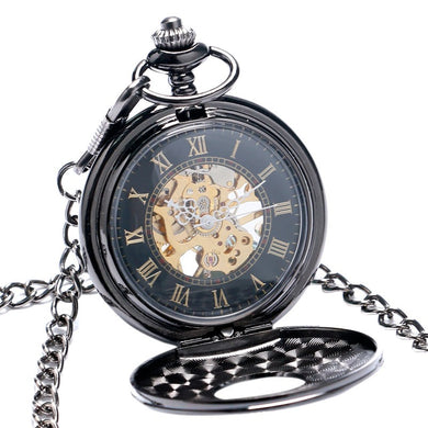 Vintage Luxury Mechanical Pocket Watch Unisex