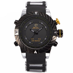 Black Quartz Men's 3D Watch Relogio Masculino