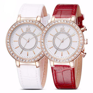 Luxury Women's Golden Wrist Watches