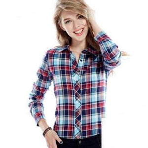 Casual Plaid Shirts For Women